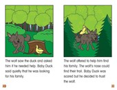 Baby Duck and the Wolf