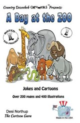A Day at the Zoo - Jokes and Cartoons in Black and White | Desi Northup |
