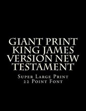 Giant Print King James Version New Testament