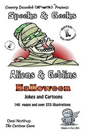 Spooks & Gooks -- Aliens & Goblins Halloween -- Jokes and Cartoons