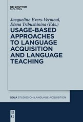 Usage-Based Approaches to Language Acquisition and Language Teaching