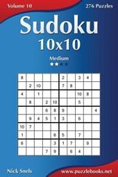 Sudoku 10x10 - Medium - Volume 10 - 276 Puzzles