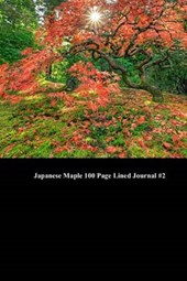 Japanese Maple 100 Page Lined Journal #2