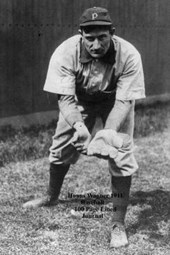 Honus Wagner 1911 Baseball 100 Page Lined Journal