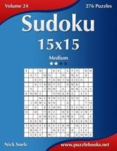 Sudoku 15x15 - Medium - Volume 24 - 276 Puzzles