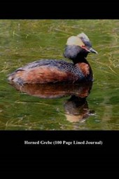 Horned Grebe (100 Page Lined Journal)
