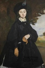 Portrait of Madame Brunet (Manet) (100 Page Lined Journal) | Unique Journal |