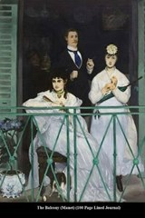 The Balcony (Manet) (100 Page Lined Journal) | Unique Journal |