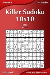 Killer Sudoku 10x10 - Easy - Volume 8 - 267 Puzzles