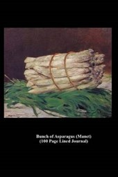 Bunch of Asparagus (Manet) (100 Page Lined Journal)