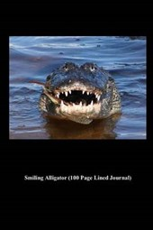 Smiling Alligator (100 Page Lined Journal)