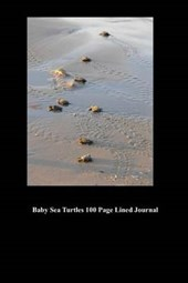 Baby Sea Turtles 100 Page Lined Journal