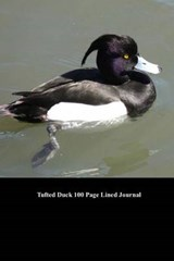 Tufted Duck 100 Page Lined Journal | Unique Journal |