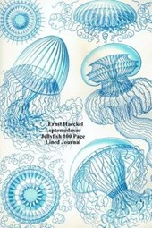 Ernst Haeckel Leptomedusae Jellyfish 100 Page Lined Journal