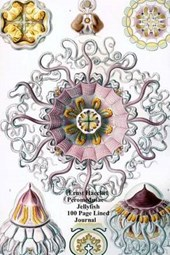 Ernst Haeckel Peromedusae Jellyfish 100 Page Lined Journal