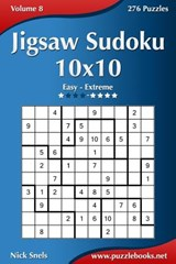 Jigsaw Sudoku 10x10 - Easy to Extreme - Volume 8 - 276 Puzzles | Nick Snels |