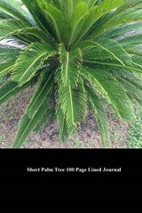 Short Palm Tree 100 Page Lined Journal | Unique Journal |