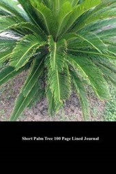 Short Palm Tree 100 Page Lined Journal