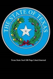 Texas State Seal 100 Page Lined Journal