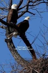 Bald Eagle Nest 100 Page Lined Journal