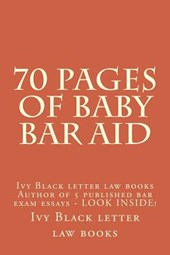 70 Pages of Baby Bar Aid