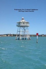 Waitemata New Zealand Lighthouse 100 Page Lined Journal | Unique Journal |