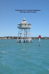 Waitemata New Zealand Lighthouse 100 Page Lined Journal