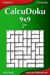 Calcudoku 9x9 - Easy - Volume 8 - 276 Puzzles