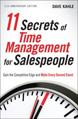 11 Secrets of Time Management for Salespeople | Dave Kahle |