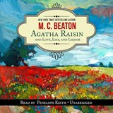 Agatha Raisin and Love, Lies, and Liquor | M C Beaton |