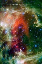 Soul Nebula 100 Page Lined Journal
