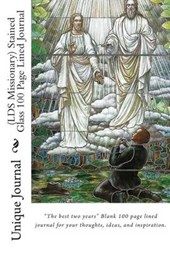 (Lds Missionary) Stained Glass 100 Page Lined Journal