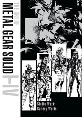 Art of metal gear solid i-iv (hbk in slipcase)