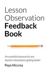 Lesson Observation Feedback Book