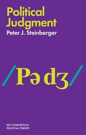Political Judgment - An Introduction | Peter J Steinberger |