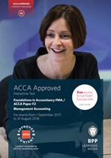 FIA Foundations in Management Accounting FMA (ACCA F2) | Bpp Learning Media |