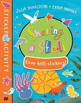 Sharing a Shell Sticker Book | Julia Donaldson |