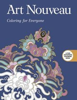 Art Nouveau Adult Coloring Book | auteur onbekend |