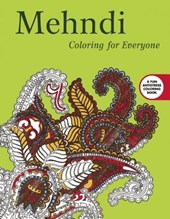 Mendhi Adult Coloring Book