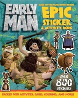 Early Man Sticker and Activity Book | Aardman Animation Ltd |