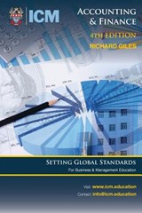 Accounting & Finance New 4th Ed | Richard Giles |