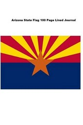 Arizona State Flag 100 Page Lined Journal