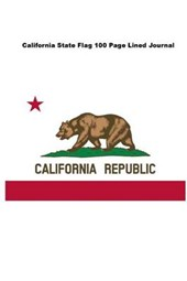 California State Flag 100 Page Lined Journal