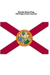 Florida State Flag 100 Page Lined Journal