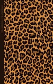Leopardenmuster Notizbuch