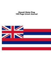 Hawaii State Flag 100 Page Lined Journal