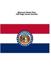 Missouri State Flag 100 Page Lined Journal