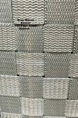Grey Woven Basket 100 Page Lined Journal | Unique Journal |