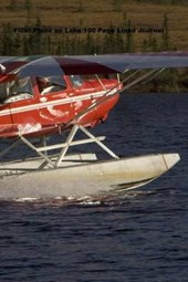 Float Plane on Lake 100 Page Lined Journal