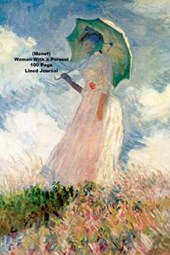 (Monet) Woman with a Parasol 100 Page Lined Journal